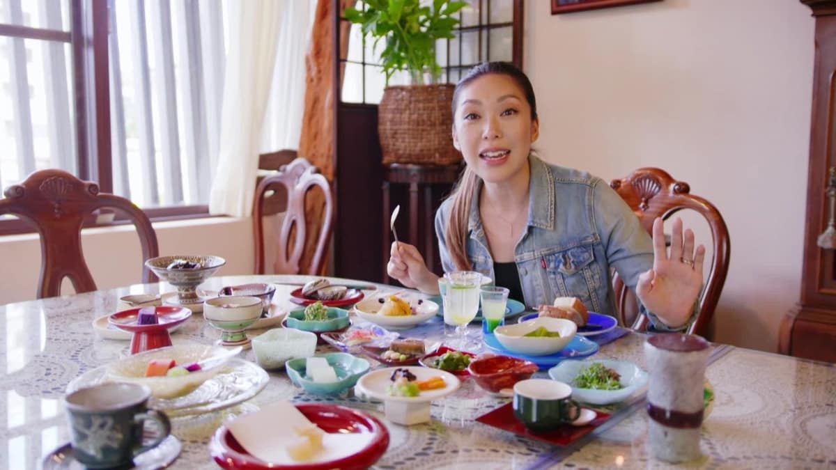 Debbie visits a hotel in Okinawa known for its nourishing breakfast spread.